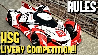 The GT SPORT LIVERY Competition!! - (RULES)