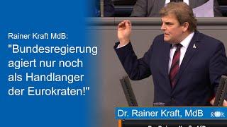Bundestagsrede: Regierung agiert als Handlanger der Eurokraten