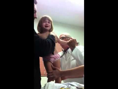 Luisinha no pediatra
