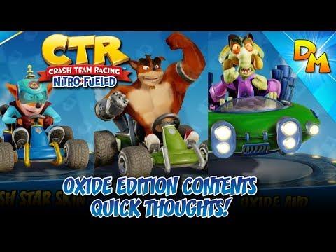 crash team racing nitro fueled nitrous oxide edition pre order