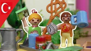 Playmobil Türkçe Bahçe'de Satış - Hauser Ailesi - Çocuk filmi