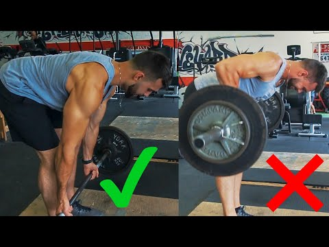 How to PROPERLY Pendlay Row | Gain Back Muscle With This Exercise
