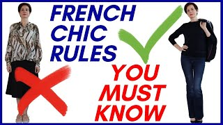 🇫🇷 DRESSING RULES FROM FRENCH WOMEN EVERYONE SHOULD LEARN ONCE AND FOR ALL