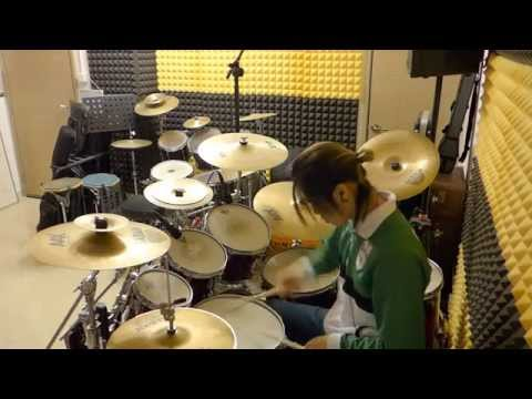 [Drum cover] Slam Dunk OP - 好想大聲說喜歡你