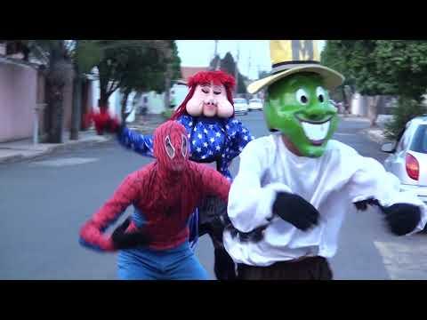 Fofão, Homem Aranha, Máscara, Chaves em Artur Nogueira. Carreta da alegria Exklusiva.