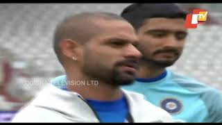 Team India Practice Ahead of World Cup Match Against Pakistan