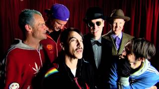 Backstage with Red Hot Chili Peppers