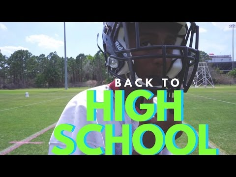 GOING BACK TO HIGH SCHOOL FOOTBALL