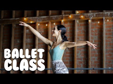 Ballet Class For Beginners   How To Do Simple Ballet Moves With @Miss Auti