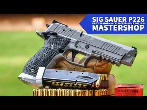 sig-sauer: Test und Video: SIG Sauer P226 X-Five Performance − was kann die Sportpistole aus dem Mastershop
