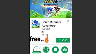 sonic runners adventure apk free - मुफ्त ऑनलाइन