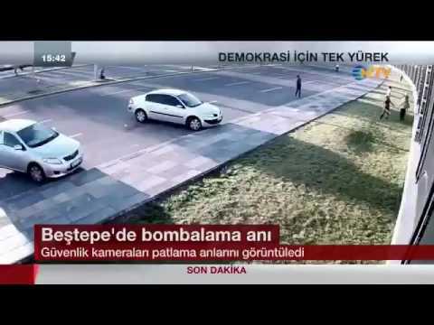 فيديو جديد يظهر لحظة التفجير المروع أمام قصر الرئاسة بأنقرة