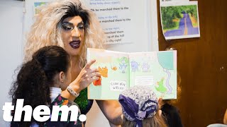 The Drag Queens Reading To Kids In Libraries | Them.