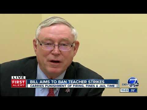 Colorado state Sen. Bob Gardner clarifies how anti-strike bill would work for teachers