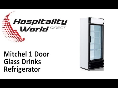 Mitchel 1 Door Drinks Refrigerator