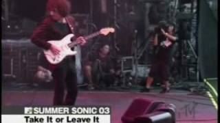 The Strokes - Take It or Leave It Live Summer Sonic 08/03/03 (HQ)