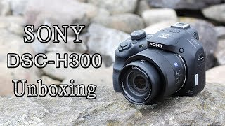 Sony Dsc-H300 Digital Camera | Unboxing.