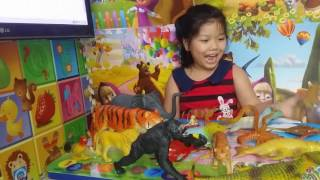 Việt Nét Duyên giới thiệu động vật đồ chơi (Phần 1)