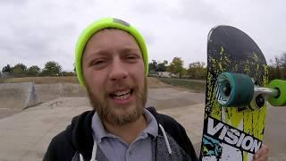 Longboard Wheels on a Skateboard!