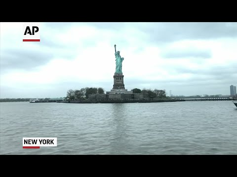 A new museum opening at the Statue of Liberty is giving visitors another opportunity to explore its history and the impact the iconic structure has had on the world. (May 13)