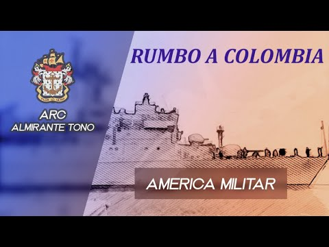 """Rumbo a Colombia la nueva Corbeta Misilera CM-56 """"Almirante Tono"""""""