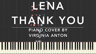 Lena Thank You Piano Cover Tutorial Synthesia