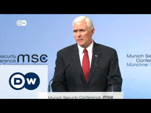 Mike Pence pledges commitment to NATO| DW News