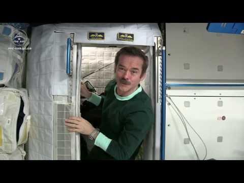 Jak se spí ve vesmíru