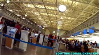 Minneapolis Airport Tram to Ticketing (POV WALK)
