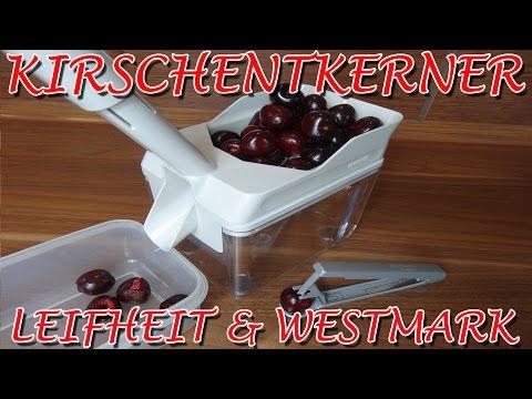 """""""KIRSCHENTKERNER LEIFHEIT CHERRYMAT UND WESTMARK KERNEX"""" -Vergleich der beiden Produkte"""