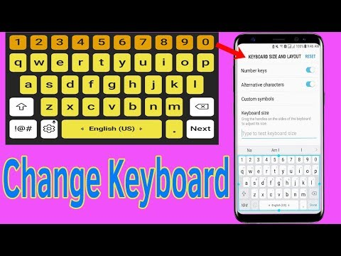 Galaxy J7/S7/S8/S9/N8/N9 : How To change Keyboard Settings - Helping