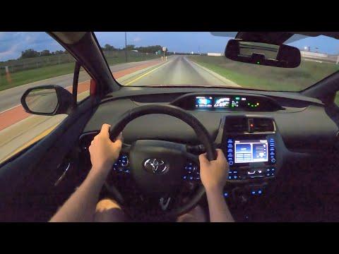 2021 Toyota Prius 2020 Edition - POV Night Drive (Binaural Audio)