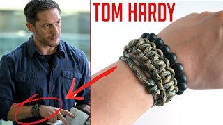 Recreating Tom Hardy's Paracord Bracelets From Venom! | Eddie Brock from Venom