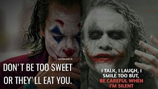 Jocker Quotes🔥 || powerfull quotes || #quotes