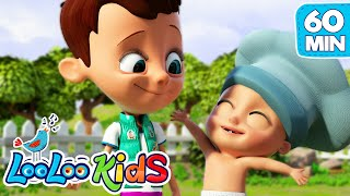 👶🏻Johny And The Muffin Man👨🏻🍳🧁  LooLoo Kids Best EDUCATIONAL KIDS SONGS