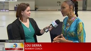 Interview with Lou Sierra, Runway coach, Miss Universe