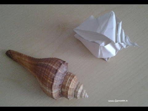 Origami Conchiglia Shell Conquille ... (Gatto999.it)