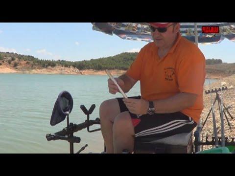 Pescar Carpas con CAÑA-BOLÍGRAFO