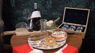 Frans diner voor Alpe d'HuZes bij De Bijsterstede - Langstraat TV