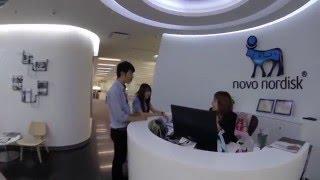 Deskercise - Novo Nordisk Thailand (Health Safety Award 2016)