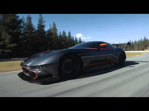 Watch Aston Martin's Vulcan Supercar Tear Up Highlands Raceway In New Zealand