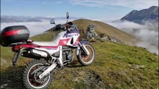 Riding Aprilia Pegaso 650 in Lefkada, Greece [RAW] - Самые