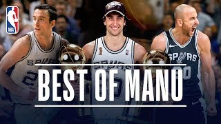 Best of Manu Ginobili With The San Antonio Spurs