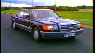 Mercedes W126 - video review