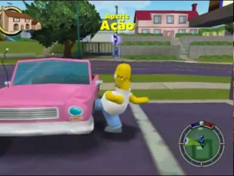 simpsons Hit & hun #1 GTA dos Simpsons