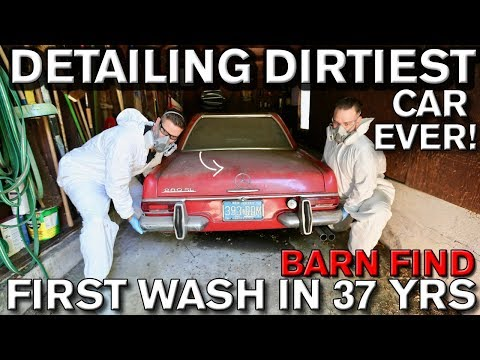 How to Detail an Old Dirty Car