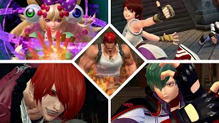 KOF XIV   ALL CHARACTERS CLIMAX   CLIMAX CANCEL   The King Of Fighters XIV   BY COVENANTNEXUS13