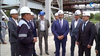 На «Акроне» состоялся официальный пуск второго агрегата по производству азотной кислоты