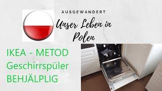 IKEA Metod Küche | Geschirrspüler Problem | BEHJÄLPLIG System für 50€