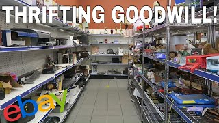 Thrifting Goodwill | Making Hundreds Of Dollars Easily! Selling On Ebay And Amazon FBA